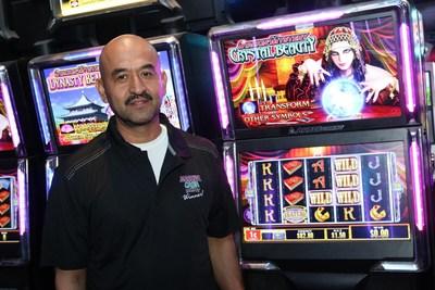 Table Mountain Casino's Massive Cash Jackpot Winner Javier, of Dinuba