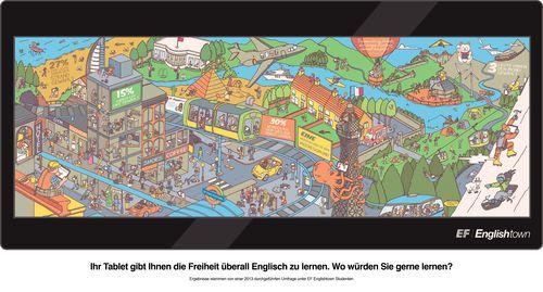 EF Englishtown bietet jetzt Englischunterricht für den Strand