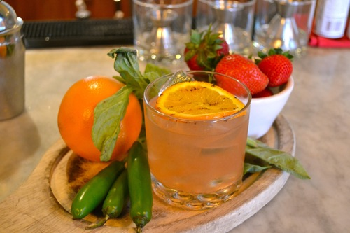 """Commissioned by Visit California and crafted in Los Angeles by mixologist Eric Tocosky, the """"Golden ..."""