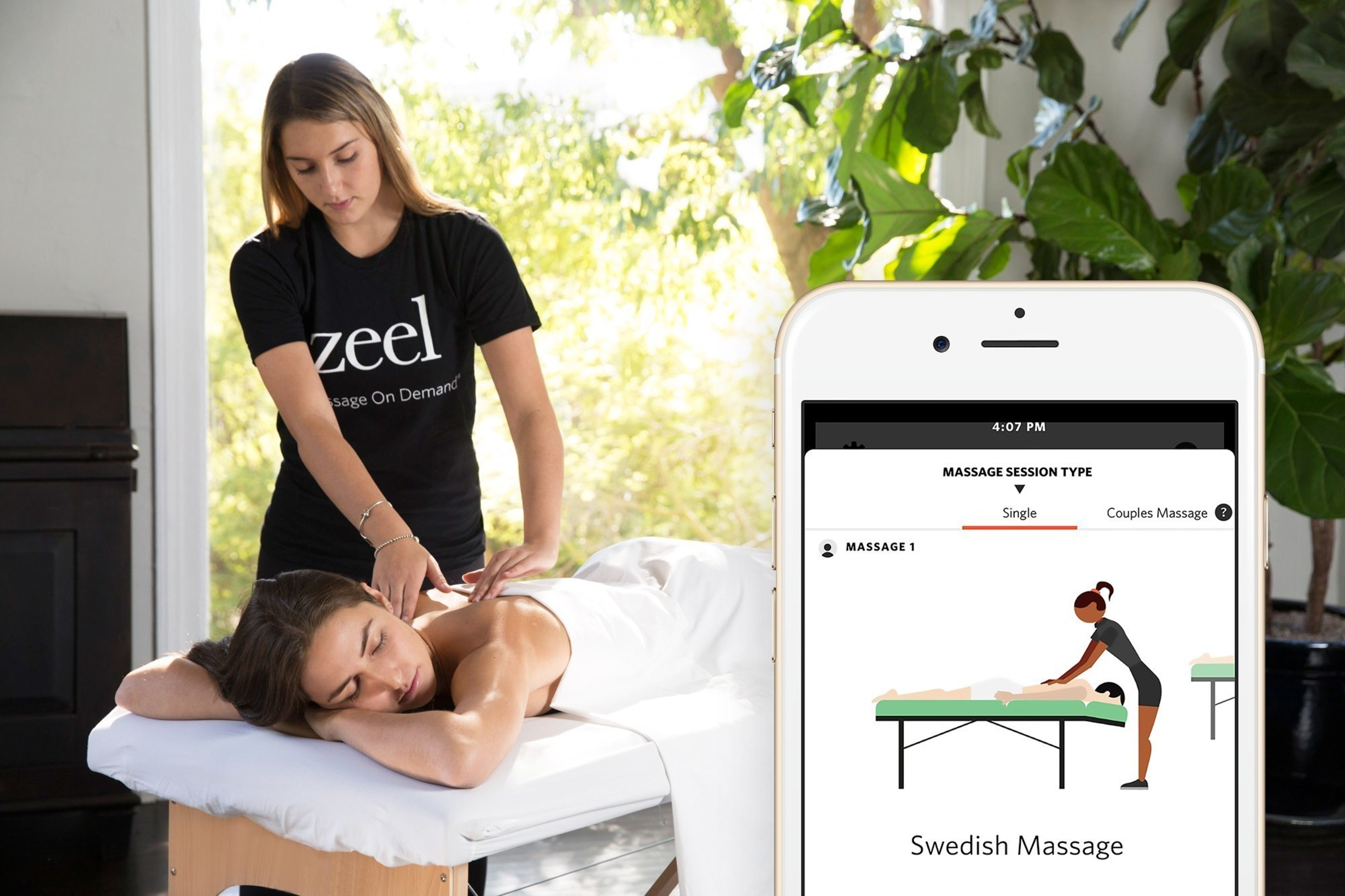 Zeel Massage On Demand(R) (PRNewsFoto/Zeel)