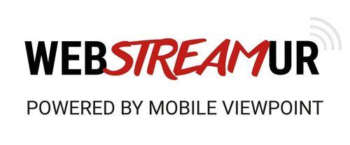 Logo WebStreamur (PRNewsFoto/Mobile Viewpoint)