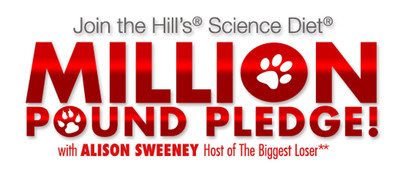 """The Biggest Loser"" Host Alison Sweeney and Hill's® Science Diet® Launch the Million Pound Pledge to Help Cats and Dogs Shed Excess Pounds"