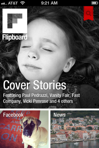 Flipboard for iPhone brings the news, updates and photos being shared across social networks into one place. ...