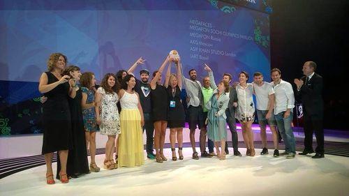 Russian victory at Cannes Lions festival (PRNewsFoto/MegaFon)