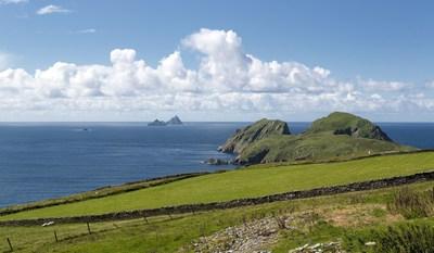 The Skellig Islands are a stunningly beautiful location on the Wild Atlantic Way. (PRNewsFoto/Tourism Ireland)