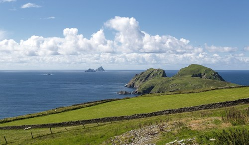 The Skellig Islands are a stunningly beautiful location on the Wild Atlantic Way. (PRNewsFoto/Tourism Ireland) (PRNewsFoto/Tourism Ireland)