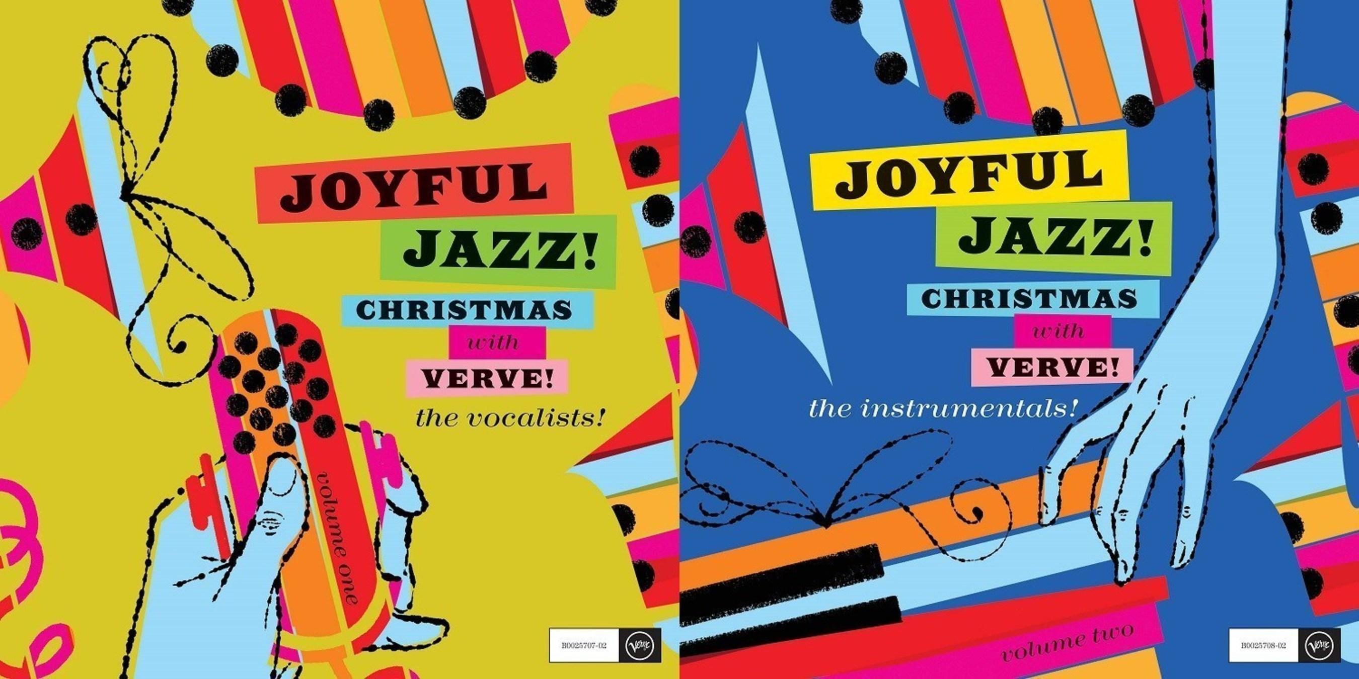 Verve Celebrates Christmas with Two Releases: Joyful Jazz! Christmas ...