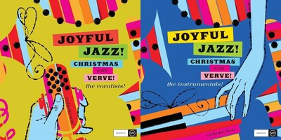 Verve is proud to celebrate the holidays with two heartwarming Christmas releases - 'Joyful Jazz! Christmas with Verve, Vol. 1: The Vocalists,' and Joyful Jazz! Christmas with Verve, Vol. 2: The Instrumentals,' on October 21. The collections feature tracks across five decades from some of the finest vocalists and instrumentalists from Universal Music's family of labels including Verve, Blue Note, Impulse!, Decca, GRP, Cadet, Argo, and more.