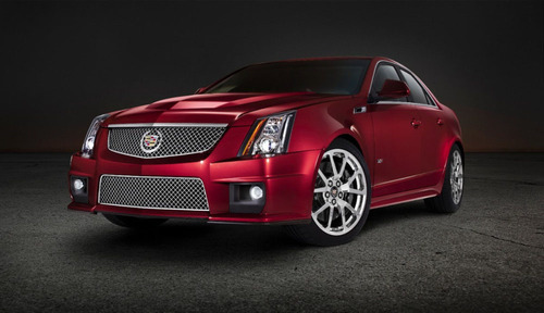 The 2014 Cadillac CTS-V sedan delivers raw speed and power that provides a trilling driving experience.  (PRNewsFoto/Bill Jacobs Automotive Group)