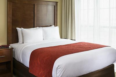 Comfort Suites prototype guest room