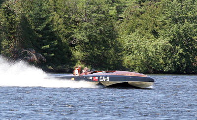 Bobby Genovese's Miss Canada IV at Ontario's Lake of Bays Antique & Classic Boat and Car Show Sunday, August 17, 2014