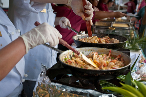 Jekyll Island Club Hotel at the Shrimp and Grits Festival. Join Us!  (PRNewsFoto/Jekyll Island Club Hotel)