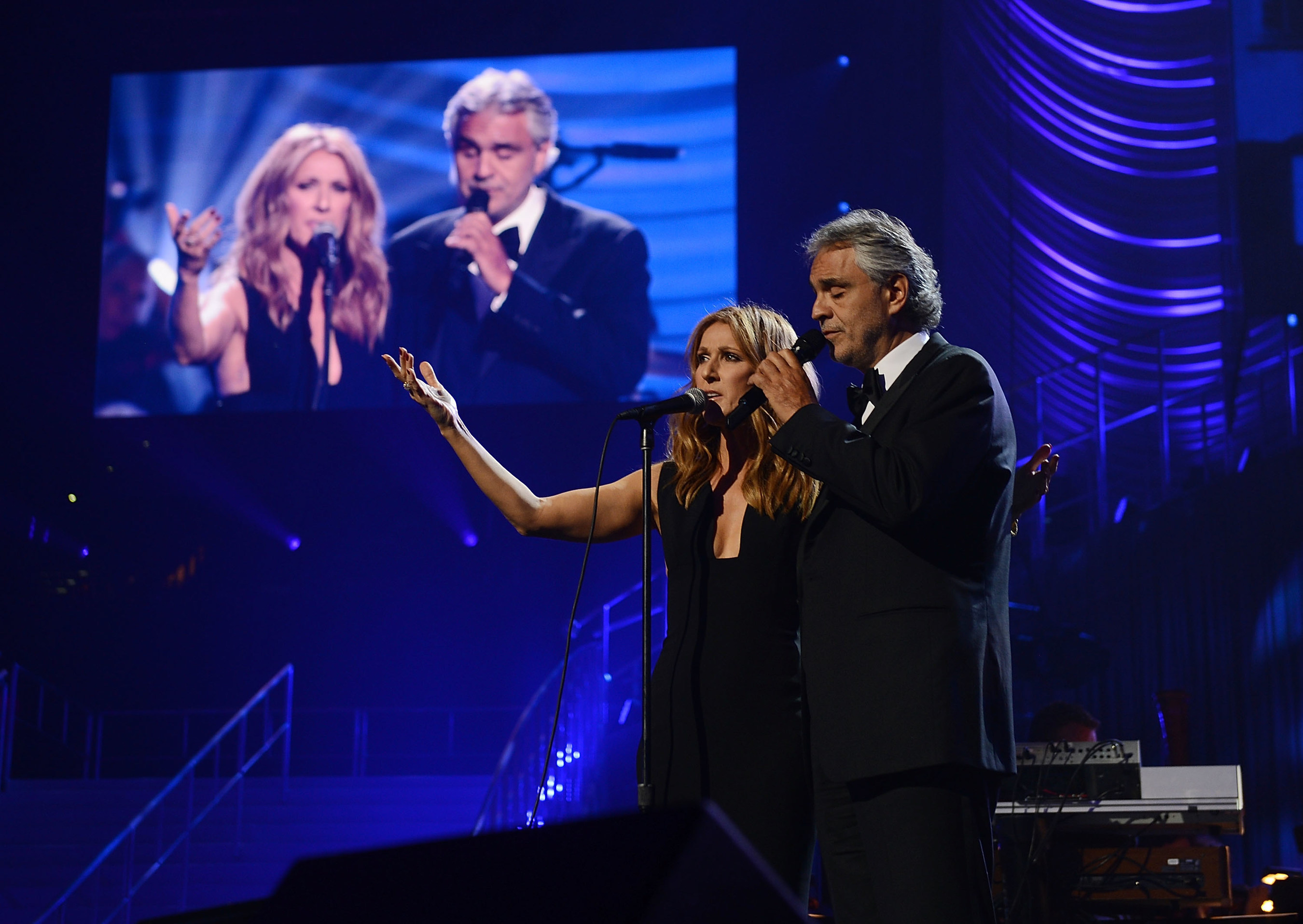 Stars Align As Keep Memory Alive Honors Andrea And Veronica Bocelli At 19th Annual 'Power of Love'' Gala In Las Vegas
