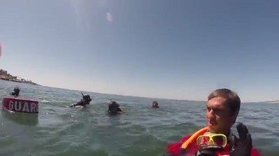 Wounded veterans spent the day snorkeling in La Jolla, thanks to an event hosted by Wounded Warrior Project.