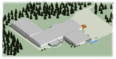 Bird's eye view of SafeRack Expansion, Andrews, S.C.