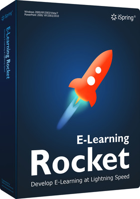 iSpring E-Learning Rocket | E-Learning Solution.  (PRNewsFoto/iSpring Solutions, Inc.)