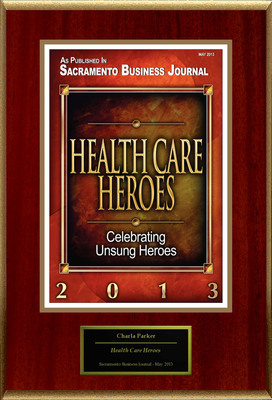 "Charla Parker Selected For ""Health Care Heroes"". (PRNewsFoto/American Registry) (PRNewsFoto/AMERICAN REGISTRY)"