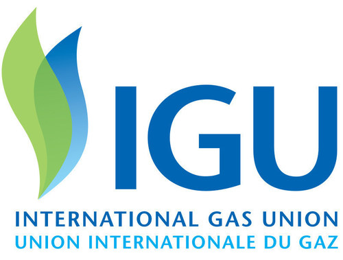 IGU Logo (PRNewsFoto/The International Gas Union (IGU) (PRNewsFoto/The International Gas Union (IGU)