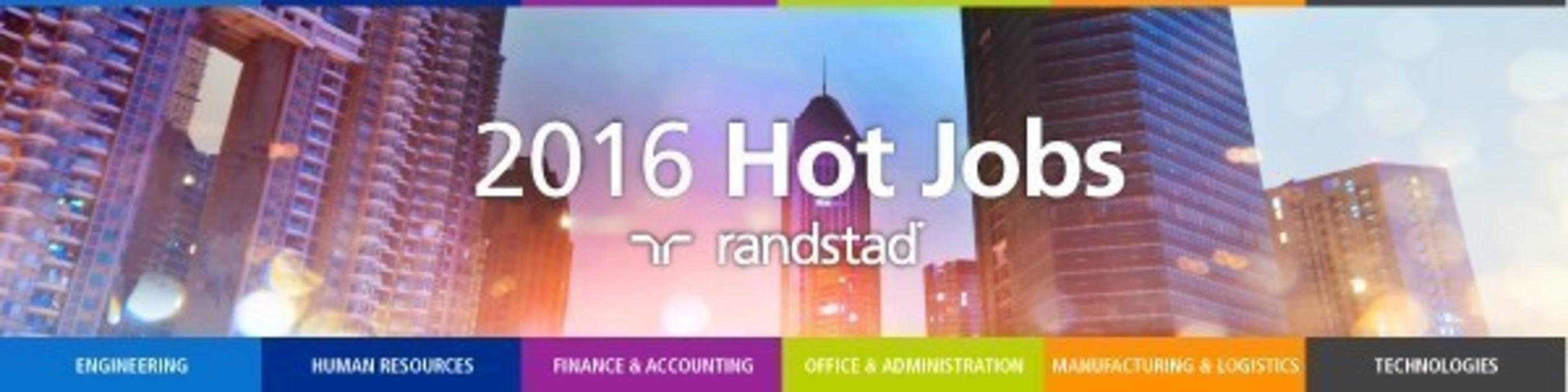 Randstad US 2016 Hot Jobs
