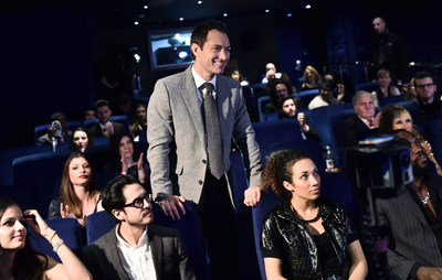 """Actor Jude Law stars in """"The Life RX"""", a new immersive theatre experience and performance celebrating the launch of the boldly designed new Lexus RX on February 9, 2016 in London, England. (Photo by Gareth Cattermole/Getty Images for Lexus) (PRNewsFoto/LEXUS) (PRNewsFoto/LEXUS)"""
