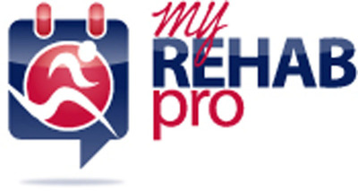 My Rehab Pro is a new mobile app that seeks to open the lines of communication between physician and patient. This app was designed to create a seamless engagement between orthopedic physicians, their patients, and the patient's physical therapist so that rehabilitation plans can be easily understood and followed.  (PRNewsFoto/My Rehab Pro)