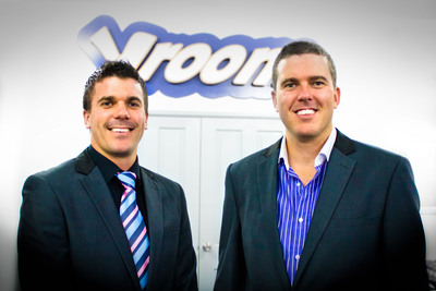 David and Richard Eastes of vroomvroomvroom.com are leading the car rental segment of the travel industry with their fast, easy to use online booking service.  An established brand in Australia, New Zealand, and Canada, vroomvroomvroom.com recently came to America with the goal of creating jobs for Americans, investing in the American economy, and growing their international brand.  vroomvroomvroom is a community focused organization that prides itself on giving back to the communities where they have offices.  (PRNewsFoto/VroomVroomVroom)