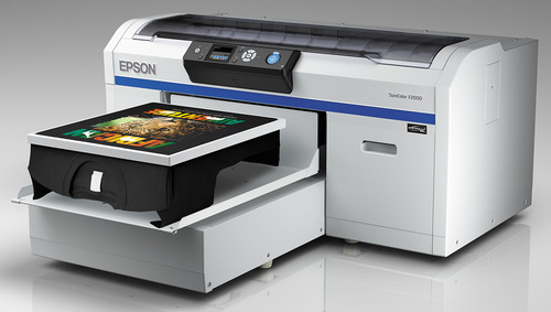 Epson Enters Direct-to-Garment Market with New SureColor F2000 Series Printers.  (PRNewsFoto/Epson America)