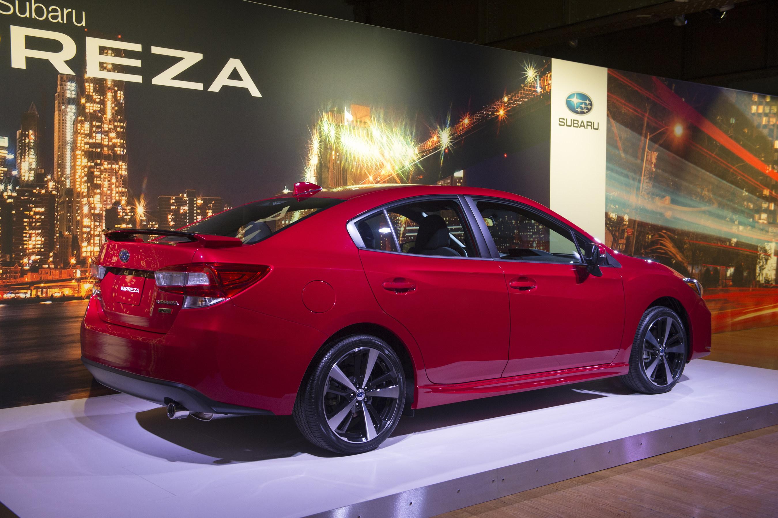 All New 2017 Subaru Impreza Sport Sedan