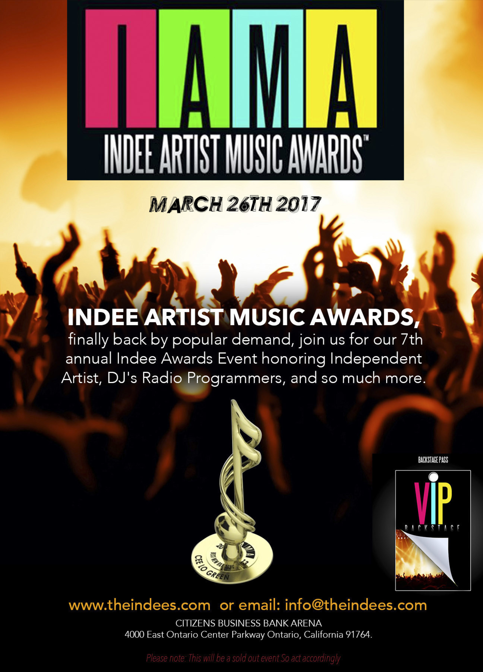 Indee Artist Music Awards, The Independent leaders that recognize Independent Artist, Musicians, and its delegates. Eliminating Award Politics, we recognize the creative artist not popularity!