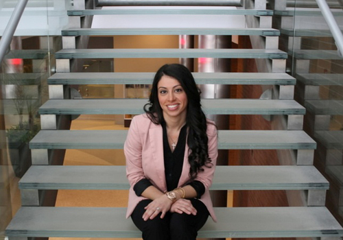 Rutgers MBA student Rema Bitar received full tuition as a Pharmaceutical Industry Scholar.  (PRNewsFoto/Rutgers Business School)