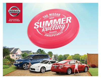 Nissan Keeps Summer Rolling With Special Customer Service-Centric Promotion. (PRNewsFoto/Nissan North America) (PRNewsFoto/NISSAN NORTH AMERICA)