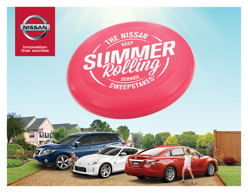 Nissan Keeps Summer Rolling With Special Customer Service-Centric Promotion.  (PRNewsFoto/Nissan North America)