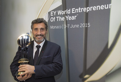 "Mohed Altrad, the founder and CEO of Montpellier-based Altrad group was tonight named EY World Entrepreneur Of The Year at an awards ceremony held in Monaco: ""My story should tell anyone that you can change your destiny."""