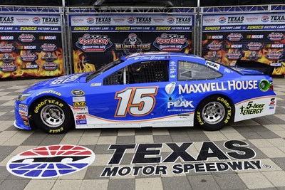Michael Waltrip Racing and Maxwell House announced a partnership which names the coffee maker as primary racing sponsor for five Sprint Cup races during the 2015 season and the prestigious DAYTONA 500(R) in February 2016. Photo credit: Chris Graythen, Getty Images