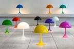With new metal shades and multiple colours, the Panthella Mini is a world first (PRNewsFoto/Nest.co.uk)