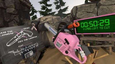 Husqvarna Limberjack pink October (PRNewsFoto/Husqvarna)