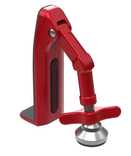 DoorJammer – the new portable door security device (PRNewsFoto/DoorJammer)