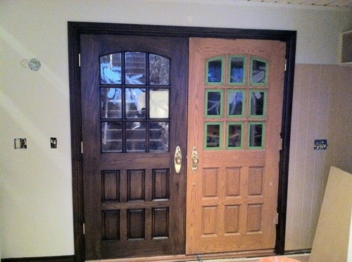 Park City Painting Refinishes Doors and Cabinets for a Complete Restoration in Summit County (PRNewsFoto/Park ...