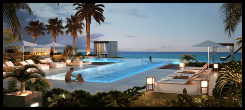 World-Renowned Grace Bay Club Unveils Ultra Modern Glass-Edge Infinity Pool as Part of One Million