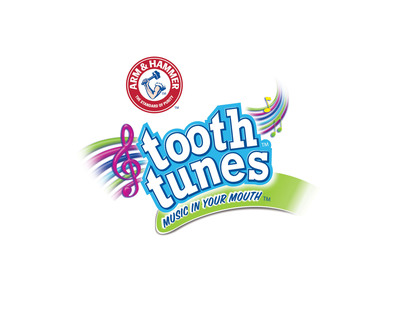 ARM & HAMMER(TM) Tooth Tunes(TM). (PRNewsFoto/Church & Dwight Co., Inc.) (PRNewsFoto/CHURCH & DWIGHT CO., INC.)