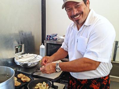 Chef Oliver Blond.  (PRNewsFoto/The Resort at Isla Palenque)