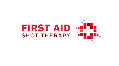 First Aid Shot Therapy Logo.