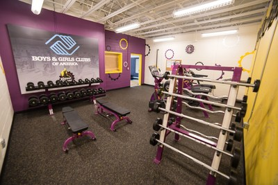 "Planet Fitness builds first ever ""Judgement Free"" fitness center within a Boys & Girls Club as part of National Anti-Bullying Initiative"