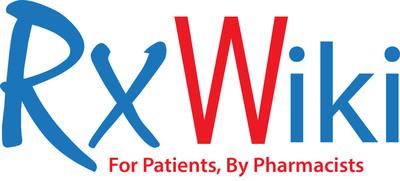 RxWiki - For Patients, By Pharmacists. (PRNewsFoto/RxWiki, Inc.) (PRNewsFoto/RXWIKI, INC.)