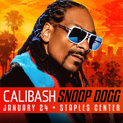 Snoop Dogg headlines CALIBASH 2016 on January 24 at Staples Center in Los Angeles