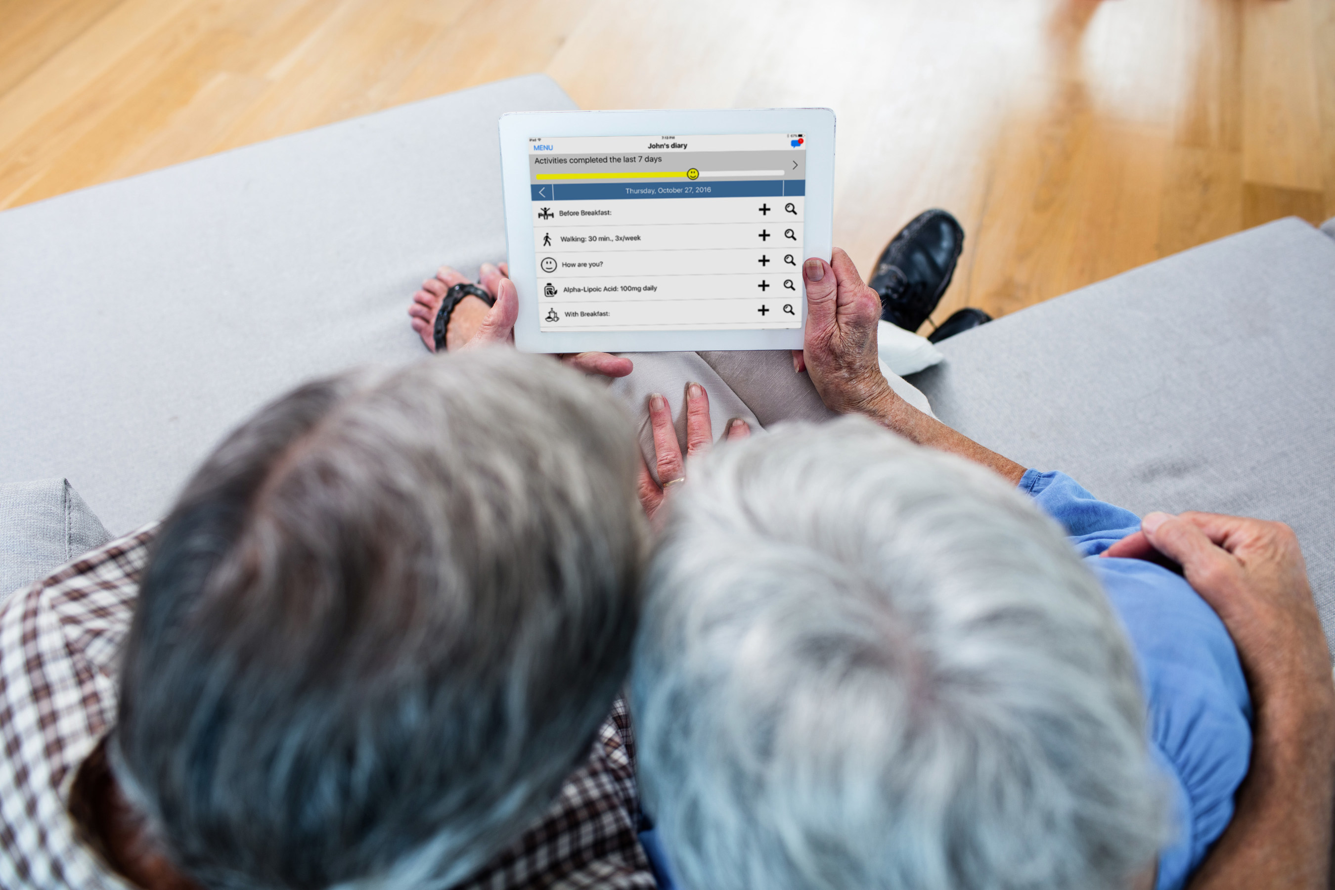 Launch of Mobile Tool to Support Those Affected by Early Stage Alzheimer's Disease