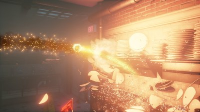 "Initiate Smashbreaker to cause destruction in ""Dangerous Golf,"" the upcoming game from Three Fields Entertainment."