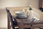 Table is center stage at Thanksgiving: restore its shine with Pledge(R) Multi Surface Everyday Cleaner