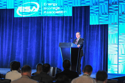 ESA Chair J. Gates with opening remarks at 25th ESA Annual Conference & Expo.