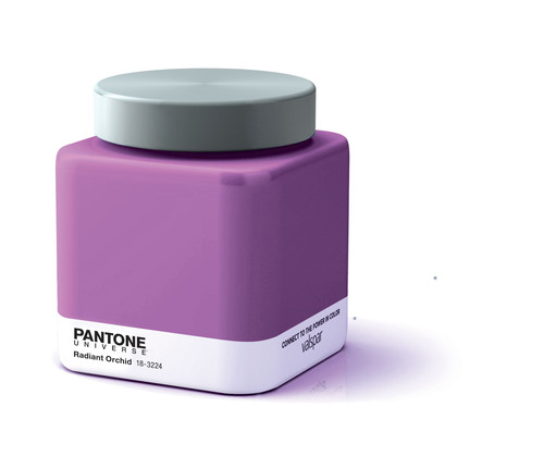 Pantone and Valspar Expand PANTONE UNIVERSE Paint Collection with the 2014 Color of the Year. Spark your imagination with PANTONE Radiant Orchid.  (PRNewsFoto/Pantone LLC)